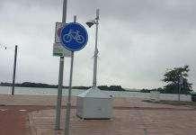 Strand Nesselande politie-cam